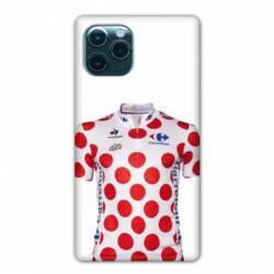 """Coque Iphone 11 Pro (6,1"""") Cyclisme Maillot pois"""