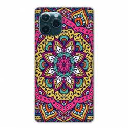 "Coque Iphone 11 Pro (6,1"") Etnic abstrait Rosas rose"