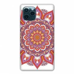 """Coque Iphone 11 Pro (6,1"""") Etnic abstrait Rosas orange"""