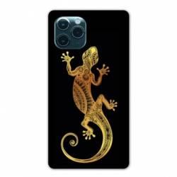 "Coque Iphone 11 Pro (6,1"") Animaux Maori lezard noir"