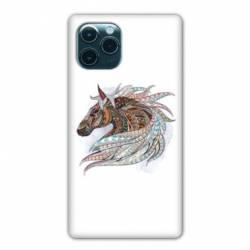 "Coque Iphone 11 Pro (6,1"") Ethniques Cheval Color B"