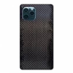 """Coque Iphone 11 Pro (6,1"""") Texture metal"""
