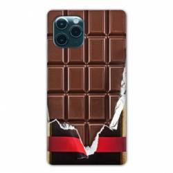 "Coque Iphone 11 Pro (6,1"") Trompe œil chocolat"