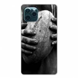 """Coque Iphone 11 Pro (6,1"""") Rugby ballon vintage"""