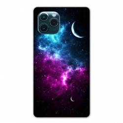 "Coque Iphone 11 Pro (6,1"") Univers Bleu violet"