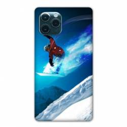 "Coque Iphone 11 Pro (6,1"") Snowboard saut"