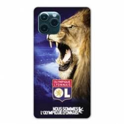 """Coque Iphone 11 (5,8"""") Licence Olympique Lyonnais - Rage de vaincre"""