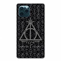 """Coque Iphone 11 (5,8"""") WB License harry potter pattern triangle noir"""