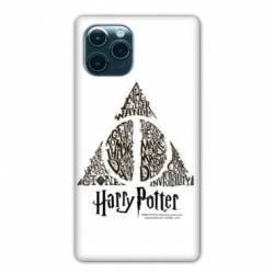 """Coque Iphone 11 (5,8"""") WB License harry potter pattern triangle Blanc"""