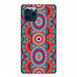 "Coque Iphone 11 Pro Max (6,5"") Etnic abstrait Pic rouge"