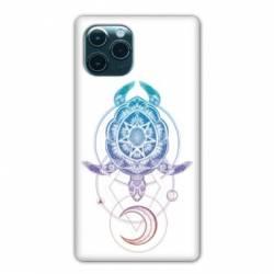 "Coque Iphone 11 Pro Max (6,5"") Animaux Maori tortue color"