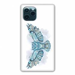 """Coque Iphone 11 Pro Max (6,5"""") Ethniques Hibou B"""