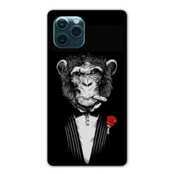 """Coque Iphone 11 Pro Max (6,5"""") Decale Singe Mafia"""
