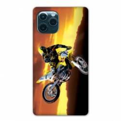 "Coque Iphone 11 Pro Max (6,5"") Moto Cross Noir"