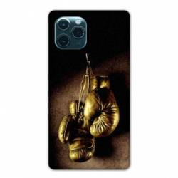 "Coque Iphone 11 Pro Max (6,5"") Boxe gant vintage"