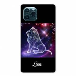 "Coque Iphone 11 Pro Max (6,5"") signe zodiaque Lion2"