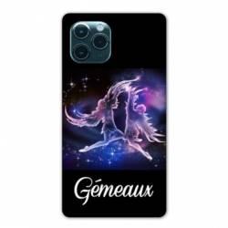 """Coque Iphone 11 Pro Max (6,5"""") signe zodiaque Gémeaux2"""