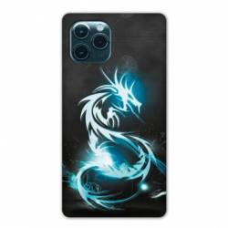 "Coque Iphone 11 Pro Max (6,5"") Dragon Bleu"