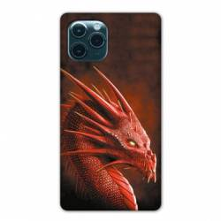 "Coque Iphone 11 Pro Max (6,5"") Dragon Rouge"