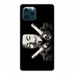 "Coque Iphone 11 Pro Max (6,5"") Anonymous Gun"