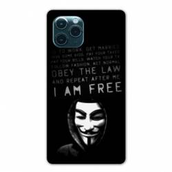 "Coque Iphone 11 Pro Max (6,5"") Anonymous I am free"