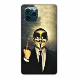 """Coque Iphone 11 Pro Max (6,5"""") Anonymous doigt"""
