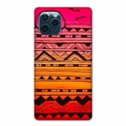 "Coque Iphone 11 Pro Max (6,5"") motifs Aztec azteque soleil"