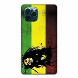 "Coque Iphone 11 Pro Max (6,5"") Bob Marley Drapeau"