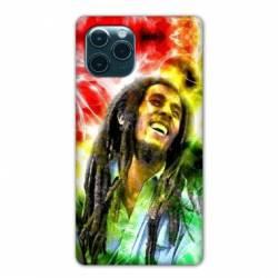 """Coque Iphone 11 Pro Max (6,5"""") Bob Marley Color"""