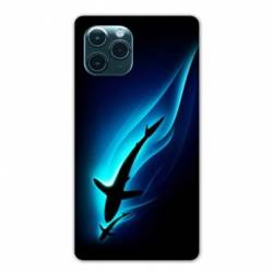 "Coque Iphone 11 Pro Max (6,5"") Requin Noir"