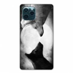 """Coque Iphone 11 Pro Max (6,5"""") Loup Duo"""