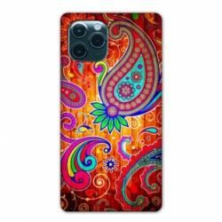 "Coque Iphone 11 Pro Max (6,5"") fleur psychedelic"