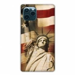 "Coque Iphone 11 Pro Max (6,5"") Amerique USA Statue liberté"