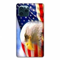 "Coque Iphone 11 Pro Max (6,5"") Amerique USA Aigle"