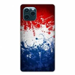 "Coque Iphone 11 Pro Max (6,5"") France Eclaboussure"