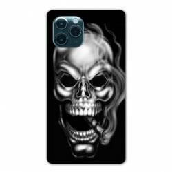 "Coque Iphone 11 Pro Max (6,5"") tete de mort Fume"