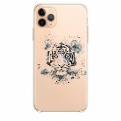 """Coque transparente Iphone 11 (5,8"""") tigre"""