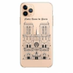 """Coque transparente Iphone 11 (5,8"""") Notre Dame Paris"""
