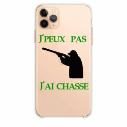 """Coque transparente Iphone 11 (5,8"""") jpeux pas jai chasse"""
