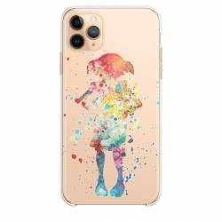 "Coque transparente Iphone 11 (5,8"") Dobby colore"
