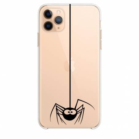 """Coque transparente Iphone 11 (5,8"""") Araignee"""