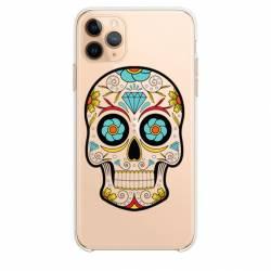 """Coque transparente Iphone 11 Pro (6,1"""") tete mort"""