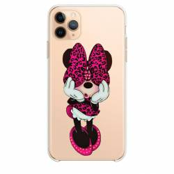 "Coque transparente Iphone 11 Pro (6,1"") noeud papillon"