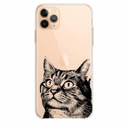 "Coque transparente Iphone 11 Pro (6,1"") Chaton"