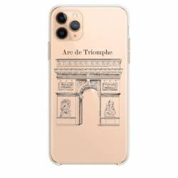 """Coque transparente Iphone 11 Pro (6,1"""") Arc triomphe"""