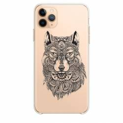 "Coque transparente Iphone 11 Pro Max (6,5"") loup"