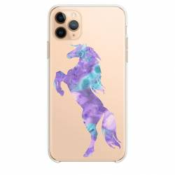 "Coque transparente Iphone 11 Pro Max (6,5"") Cheval Encre"