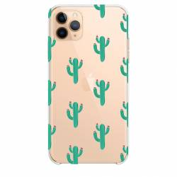 "Coque transparente Iphone 11 Pro Max (6,5"") Cactus"