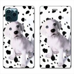 """RV Housse cuir portefeuille Iphone 11 Pro (6,1"""") Chien dalmatien"""