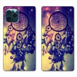 "RV Housse cuir portefeuille Iphone 11 Pro (6,1"") attrape reve Colore"